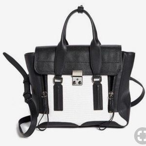 3.1 Phillip Lim Pashli Colorblock Medium Satchel